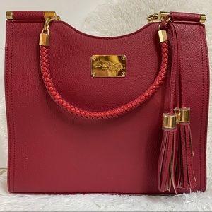 Bebe Women's Natalie Shopper Tote Shoulder Bag